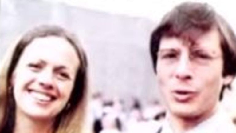 Robert Durst and his wife Kathleen McCormack Pic: HBO