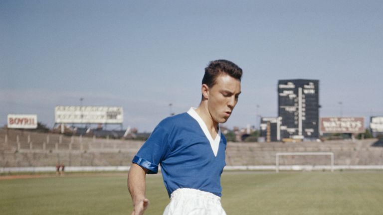 Jimmy Greaves of Chelsea, 1st August 1957