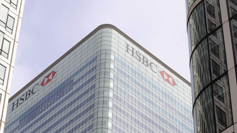HSBC Bank To Keep Headquarters In London | UK News | Sky News