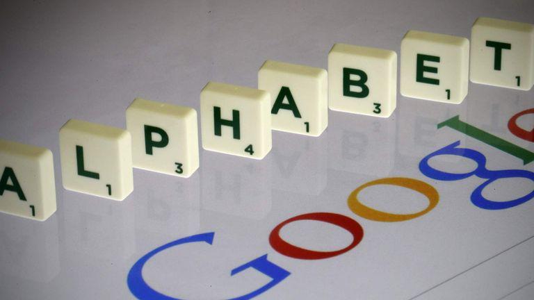 Google Logo With Alphabet