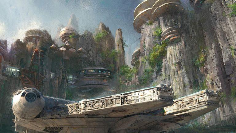 Star Wars theme park