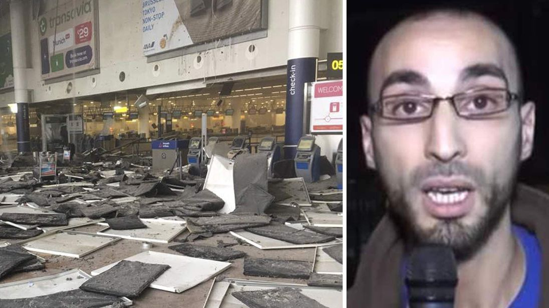 Brussels airport attack and Faycal Cheffou