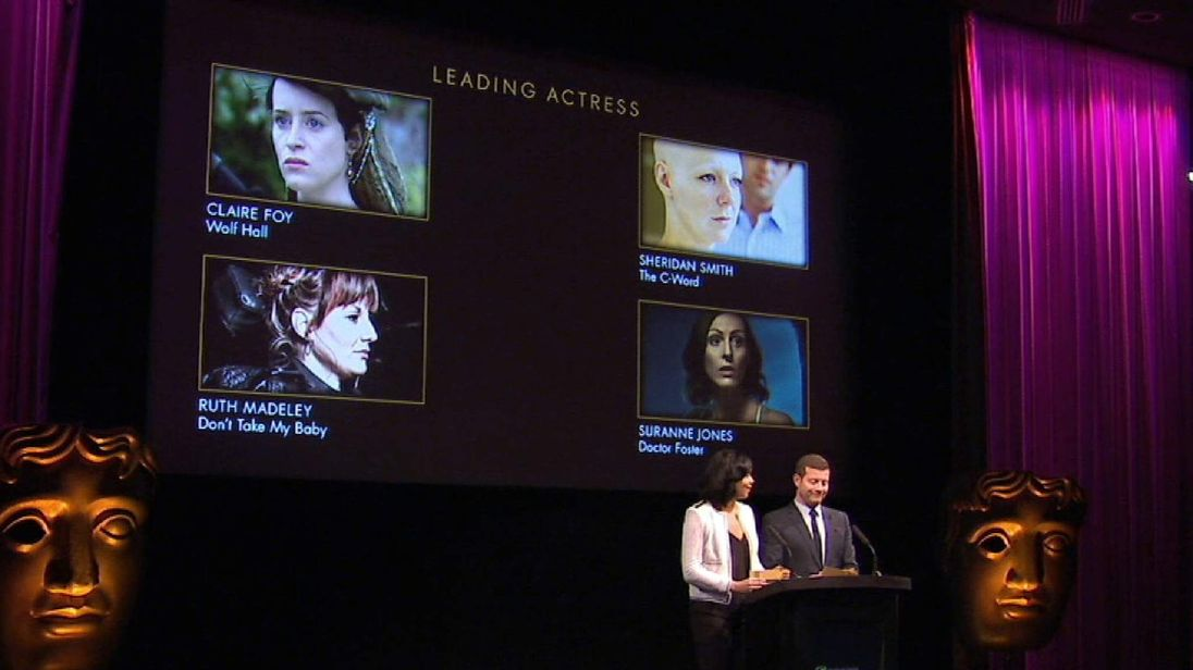 Georgina Campbell and Dermot O'Leary announce BAFTA nominations