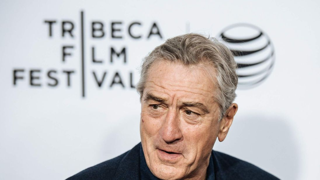Robert De Niro appears at the 2015 Tribeca film festival