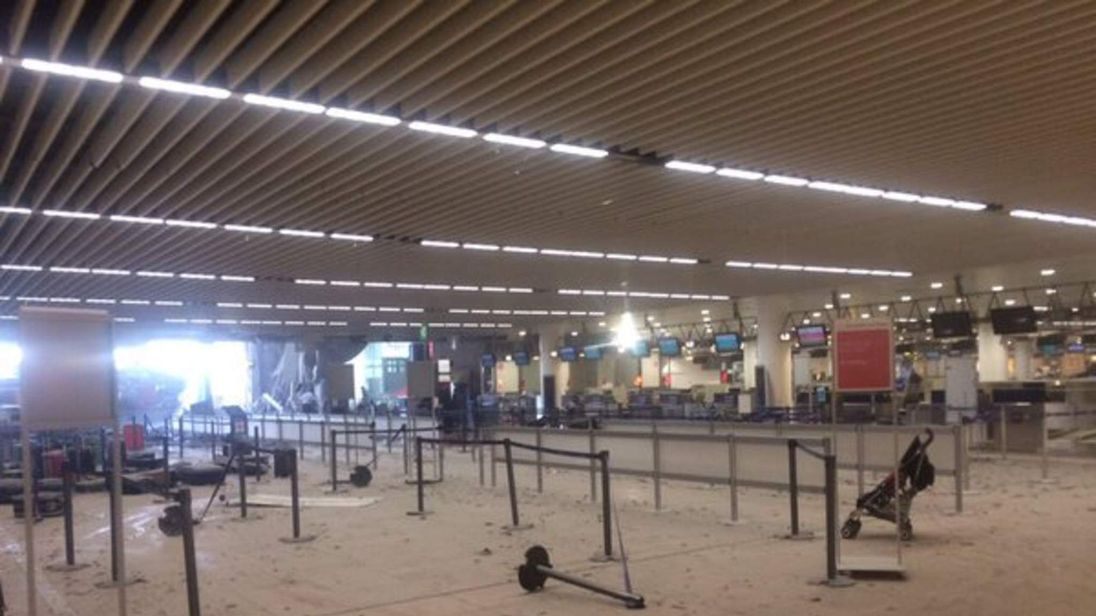brussels airport terror suicide bomb attack
