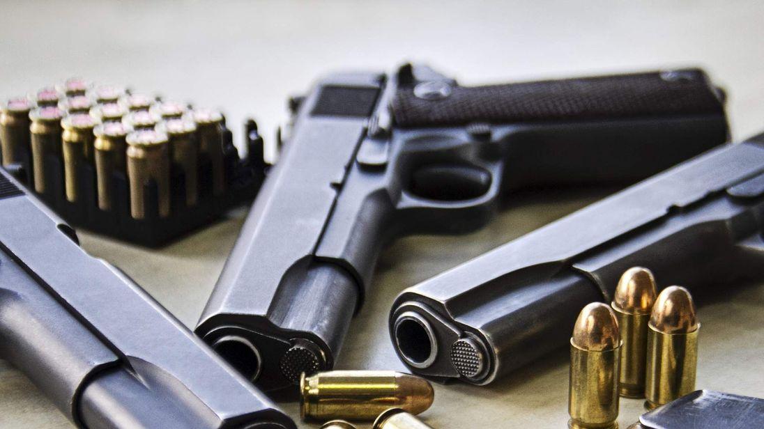 Firearms guns ammunition generic