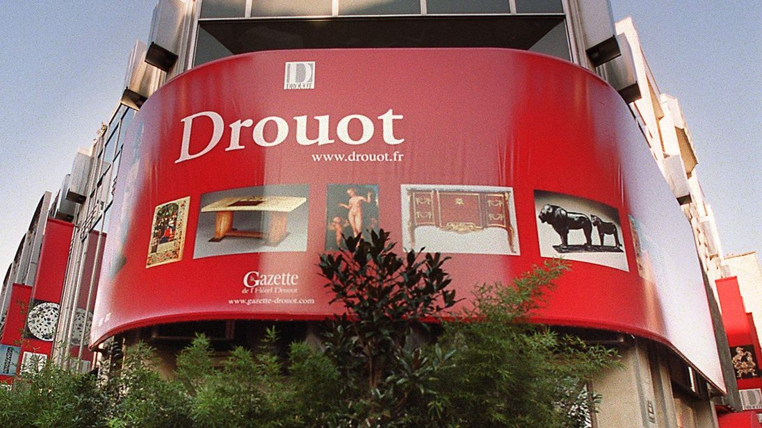 Drouot Auction House in Paris. Police are investigating whether the close-knit staff association at France's premier auction house conspired to steal major artworks worth hundreds of thousands of euros