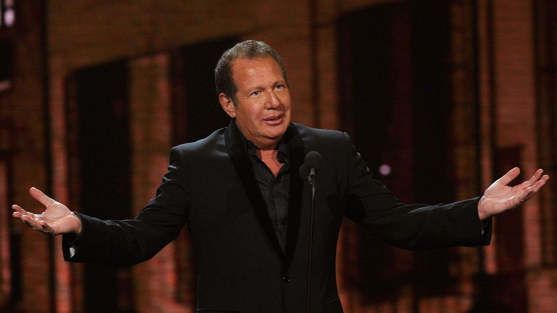 Garry Shandling speaks onstage at The First Annual Comedy Awards at Hammerstein Ballroom on March 26, 2011 in New York City.