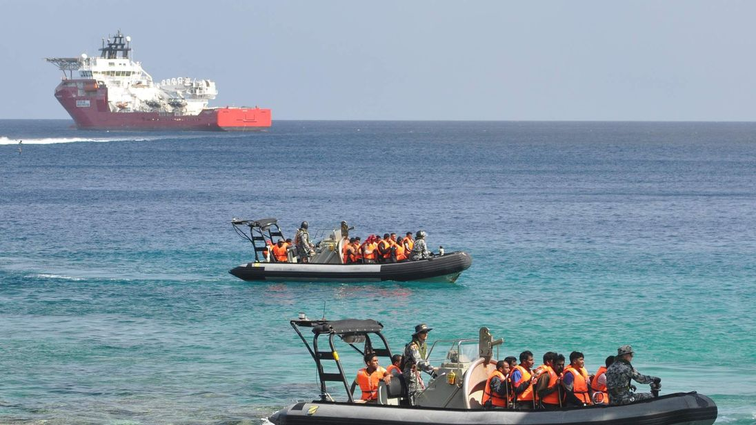 Suspected Asylum Seekers Arrive At Christmas Island