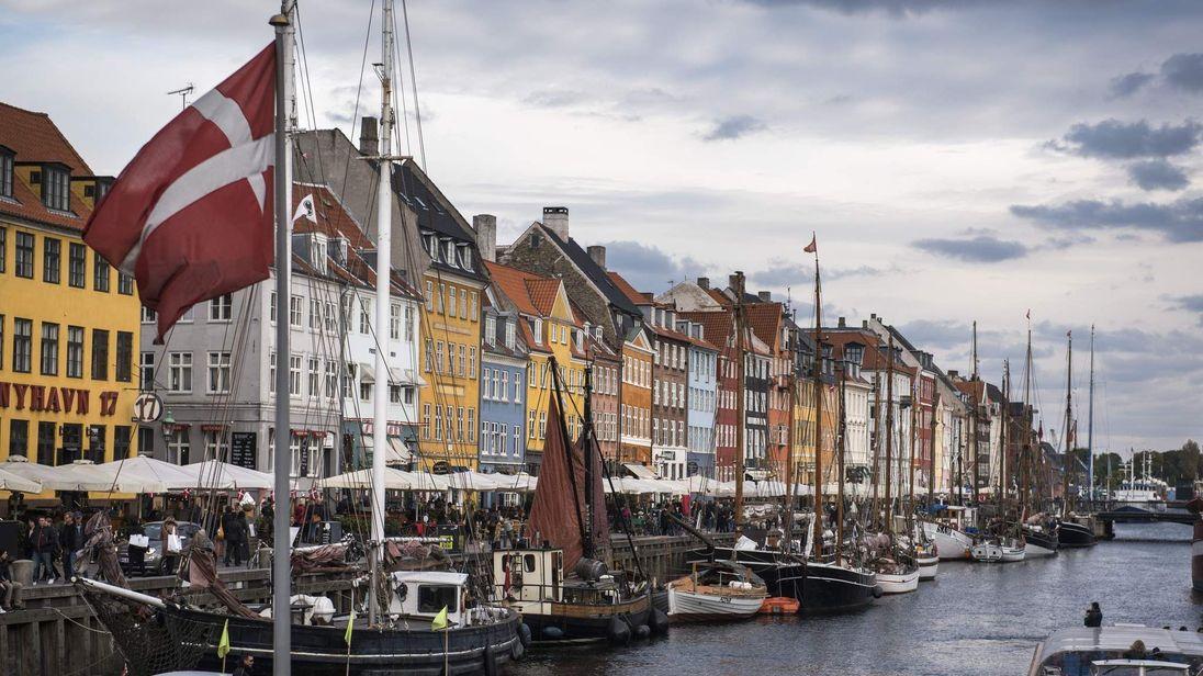 Nyhavn canal in Copenhagen