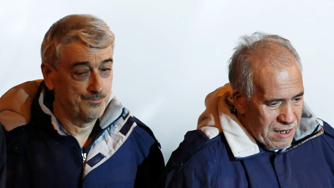 Gino Pollicardo (L) and Filippo Calcagno (R)