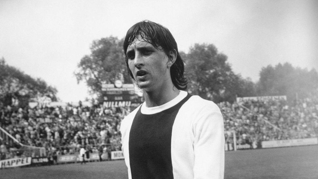 Cruyff With Ajax