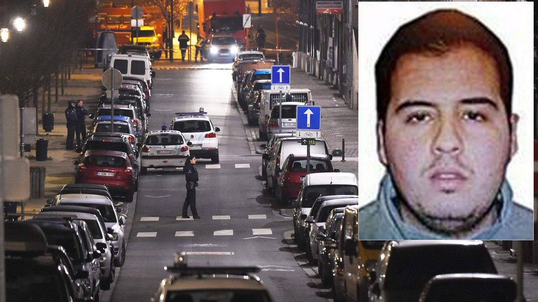 Ibrahim El Bakraoui, and police searches in Schaarbeek district