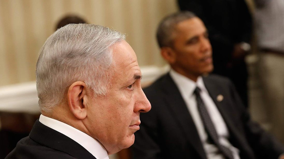 Strained relations between Israel's Prime Minister and the American President