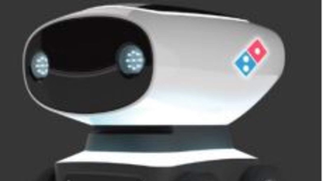 DOMINOS PIZZA ROBOT