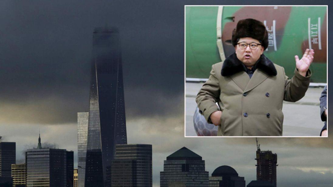 Kim Jong Un and Manhattan