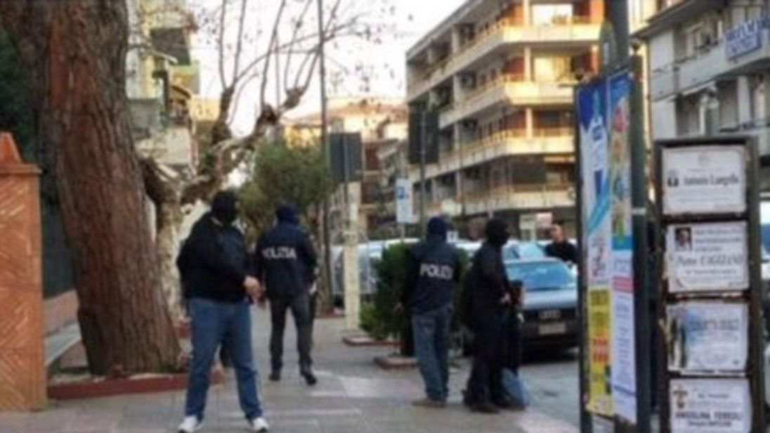 The Algerian man was reportedly arrested in Salerno. Pic: @poliziadistato
