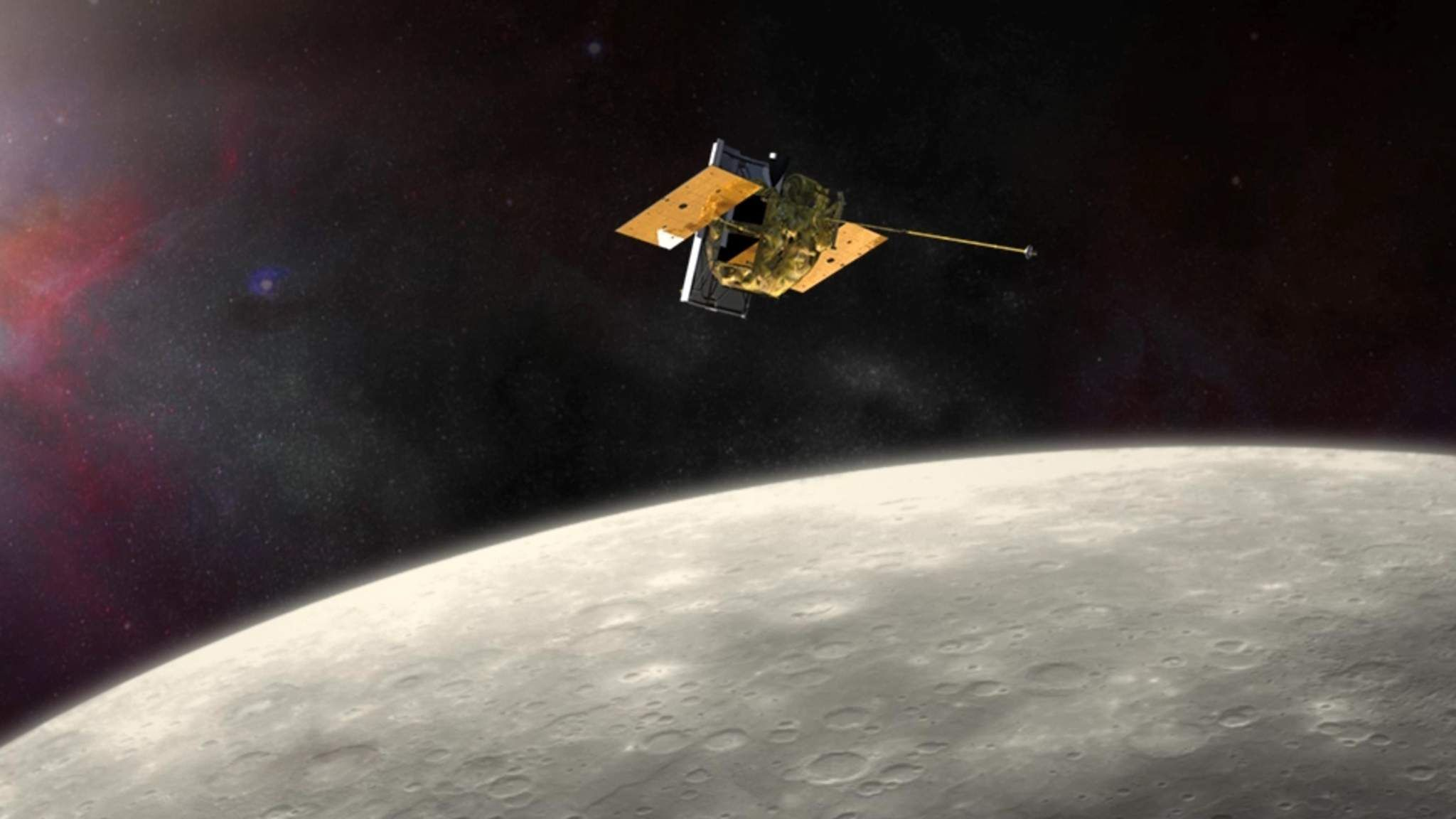 messenger spacecraft launch date - HD2048×1152