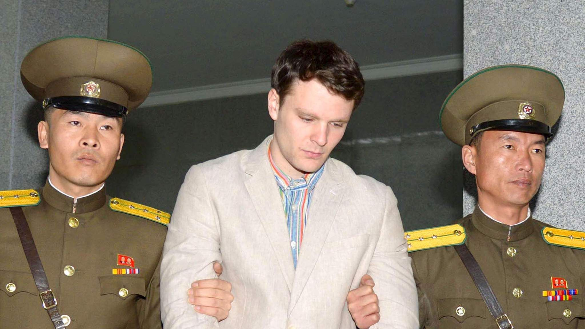 Otto Warmbier the former University of Virginia student who returned home to the US last week after spending more than a year imprisoned in North Korea