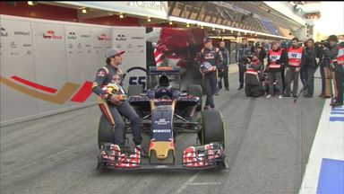 The new-look Toro Rosso