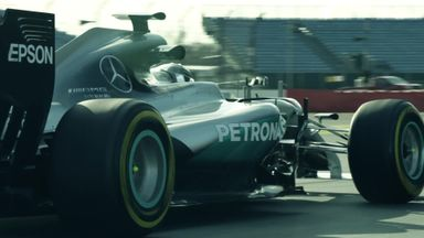 Sky F1 with Mercedes