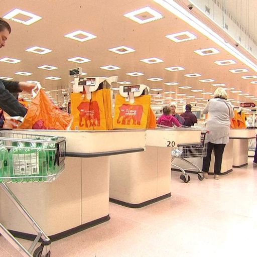 Sainsbury's sales growth eases in 'competitive' market