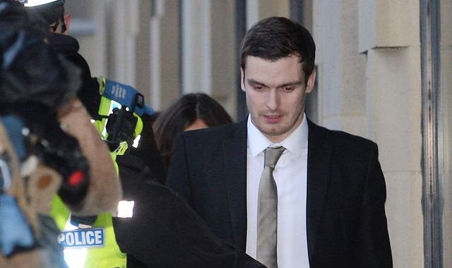 Adam Johnson released from prison after three years