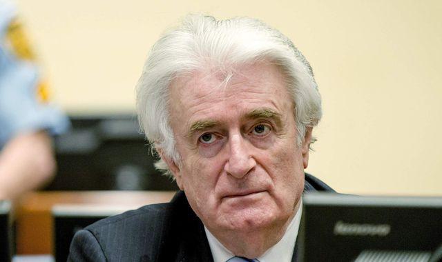 Radovan Karadzic: Bosnian Serb leader has war crimes sentence extended to life