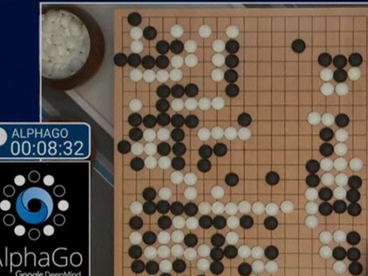 AlphaGo beats human at Go. Picture: Google