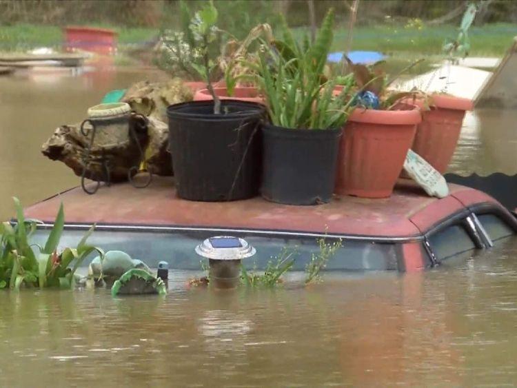 Port Vincent floods