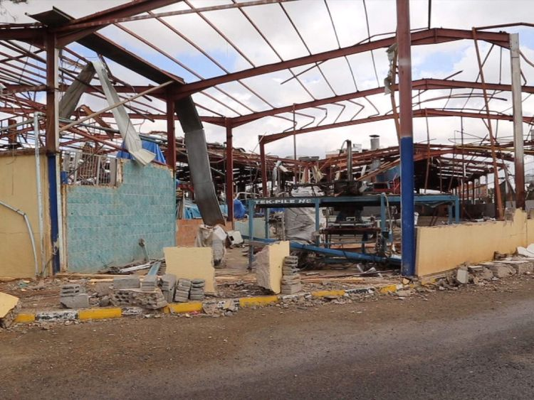 Yemen - the remains of the country's only ceramics factory