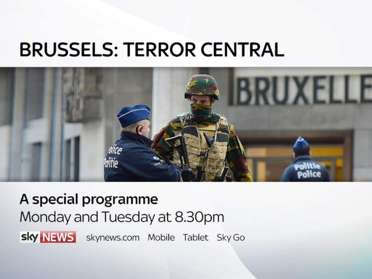 Brussels: Terror Central promo