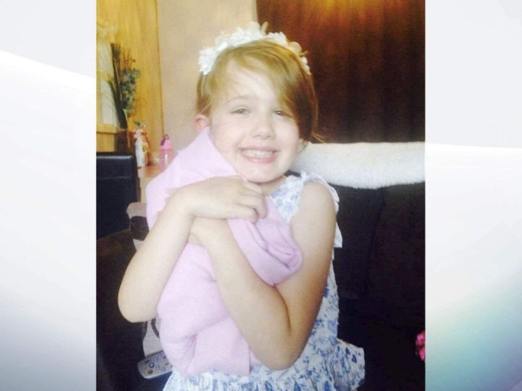 Summer Grant, who was killed when the bouncy castle she was playing in was blown away.