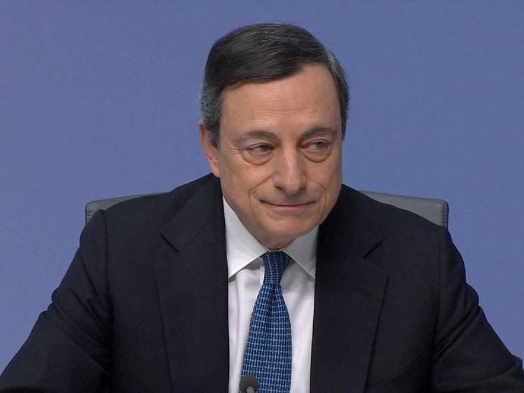 Euro falls as ECB set to keep interest rates steady