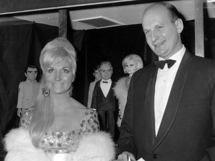 Gerry Anderson and his wife, Sylvia