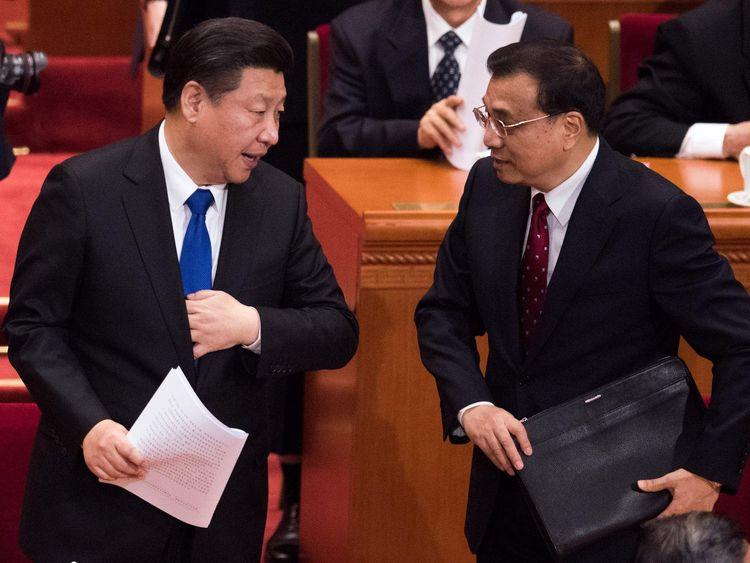 President Xi Jinping and Premier Li Keqiang.