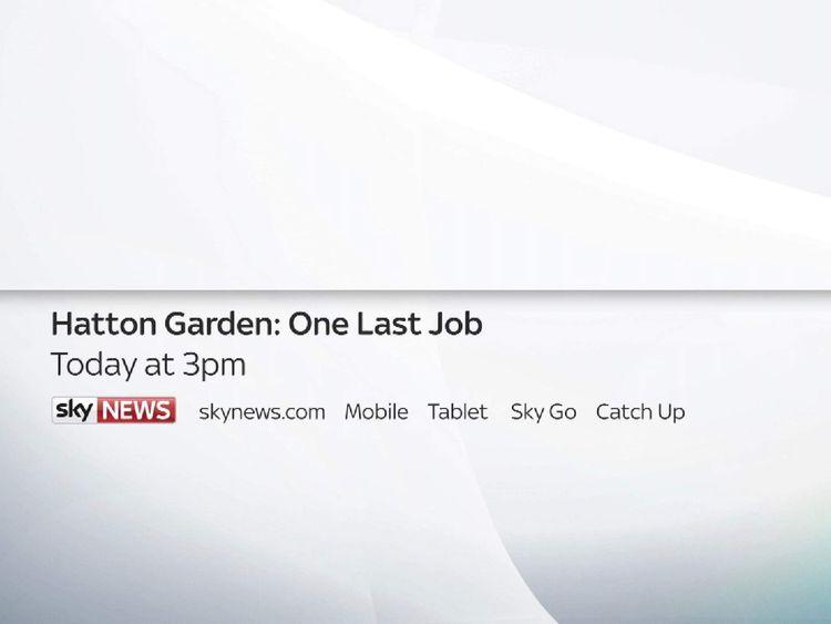 Hatton Garden special report promo