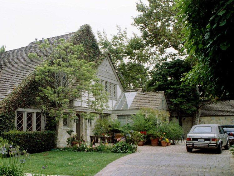 FILE PHOTO OF OJ SIMPSON BRENTWOOD HOUSE