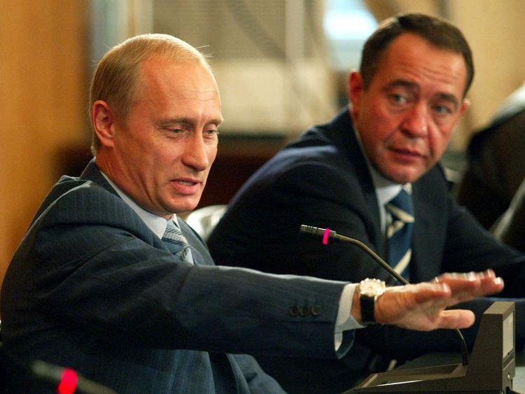 RUSSIAN PRESIDENT PUTIN MEETS LOCAL MEDIA IN VLADIVOSTOK.