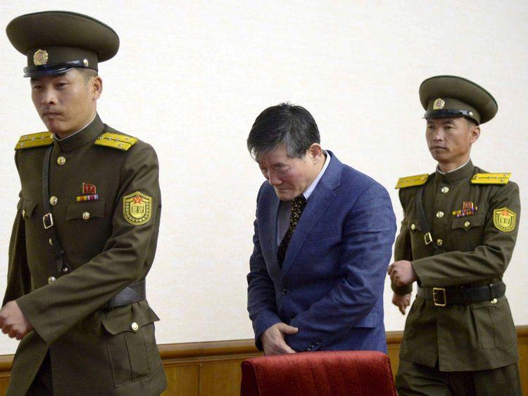 Prisoner Kim Dong Chul