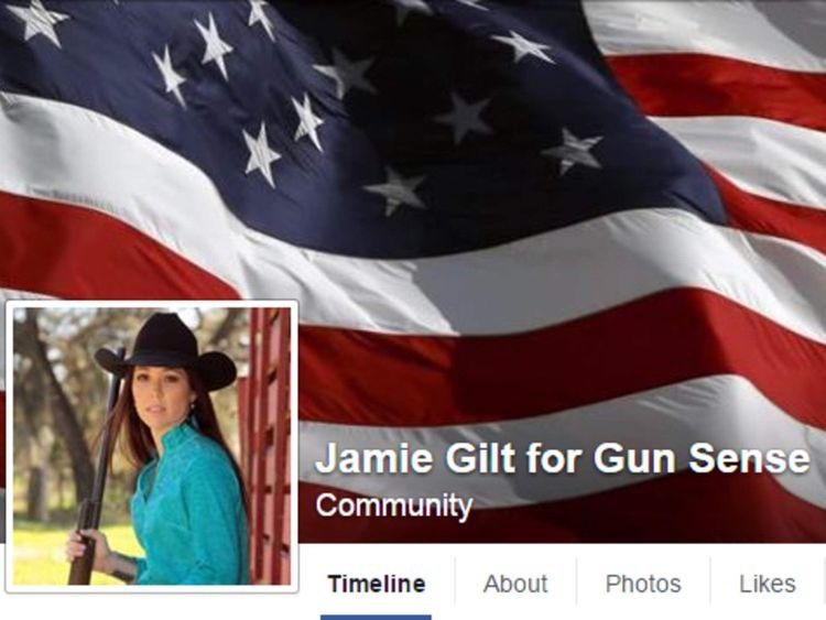 Jamie Gilt For Gun Sense