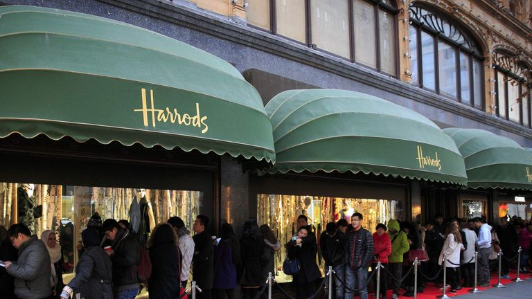 Harrods Winter Sale
