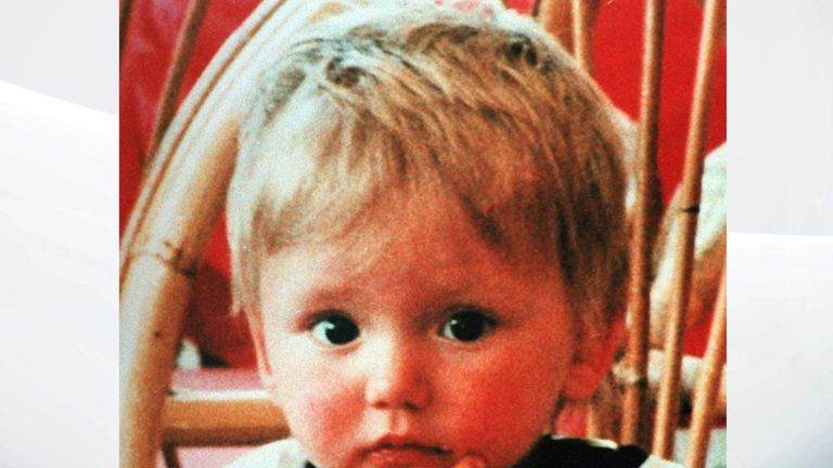 Ben Needham was 21 months old when he vanished from the Greek island of Kos