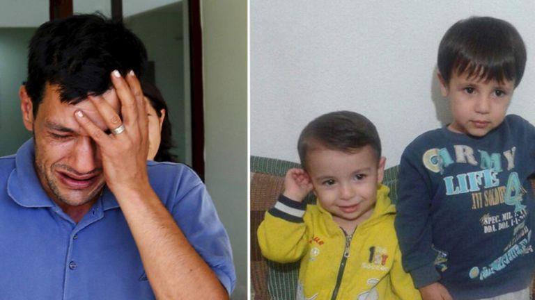 Abdullah Kurdi, 40, father of Syrian boys Aylan, three, and Galip, five