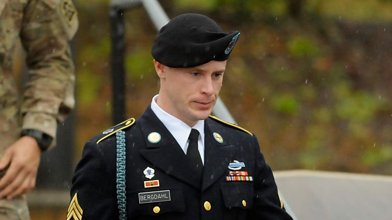 Bowe Bergdahl Attends First Hearing In Army Court Martial At Fort Bragg