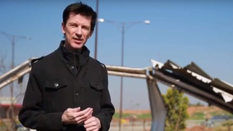 British journalist is still hostage of IS, says minister