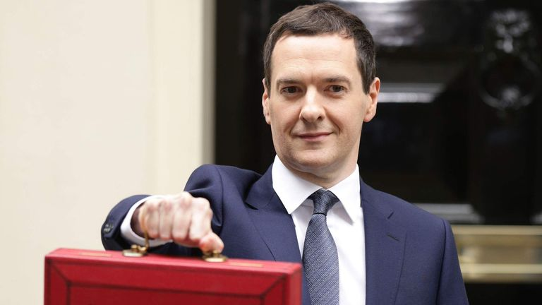 George Osborne before his Summer Budget in July 2015.