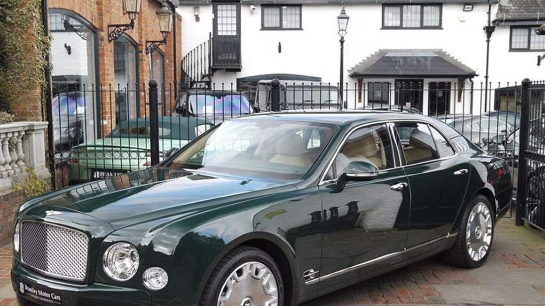 The Queen\'s Old Bentley For Sale: £200k ONO