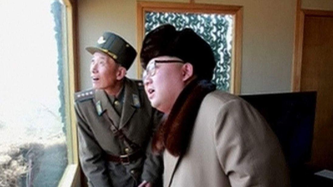 North Korea weapons test