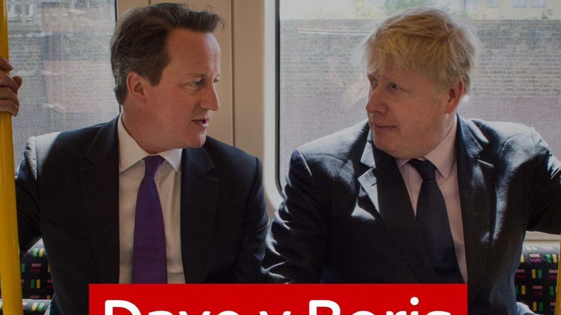 David Cameron and Boris Johsnon